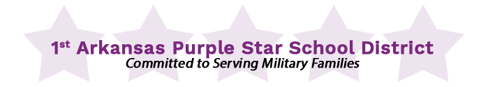 1st Arkansas Purple Star School District Committed to Serving Military Families