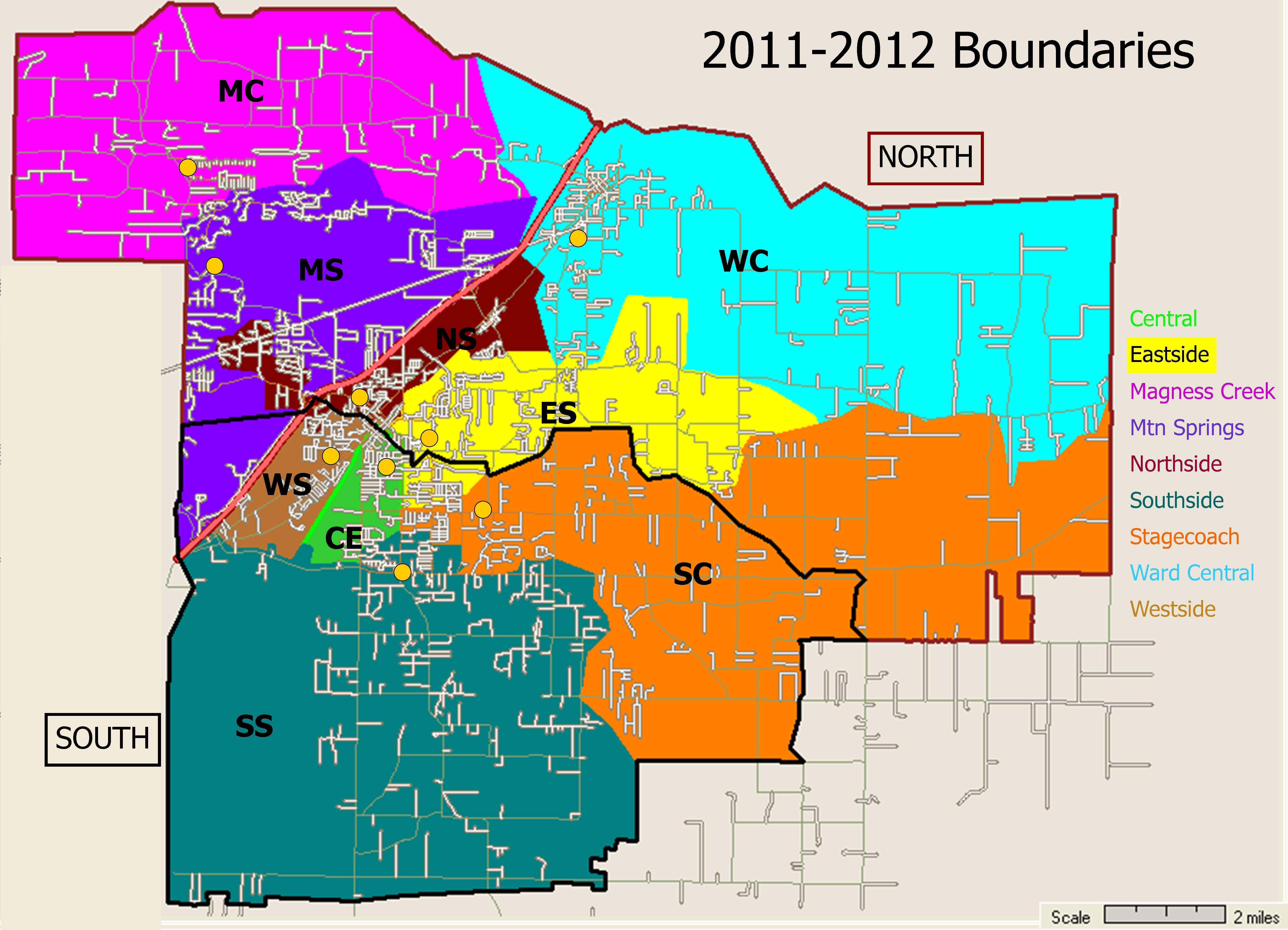 School District Boundary Map